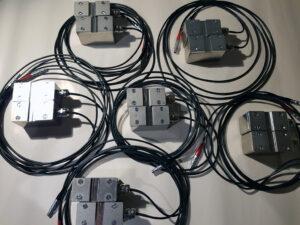 DS10 clamp-on ultrasonic flowmeter sensors